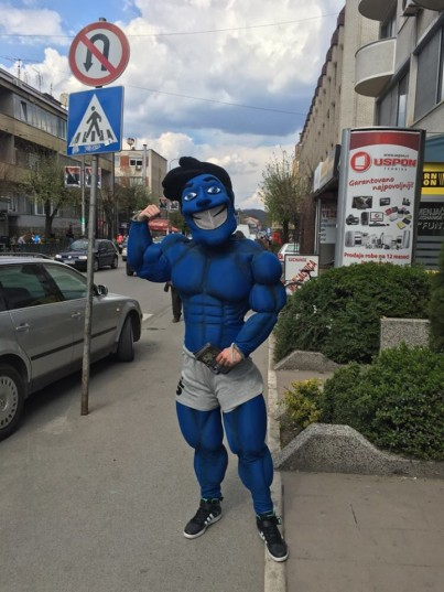 Oglas za Maskotu - Beograd