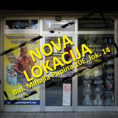 Nova lokacija prodavnice u Yu Biznis Centru na Novom Beogradu