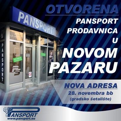 Nova Adresa Pansport - Novi Pazar