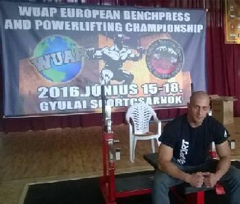 Konzul vicešampion Evrope u powerliftingu