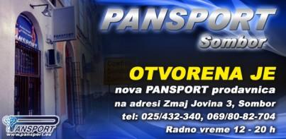 Otvorena Pansport prodavnica u Somboru