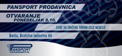 Nova MP Pansport Borča (Bratstva Jedinstva 44)