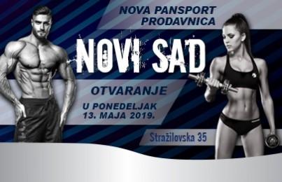 Nova prodavnica Pansporta u Novom Sadu!