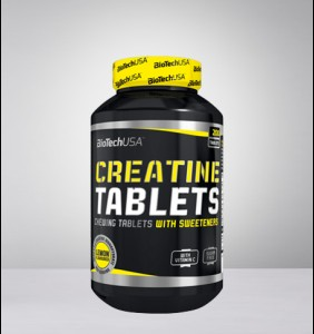 Creatine Tablets with Vitamin C