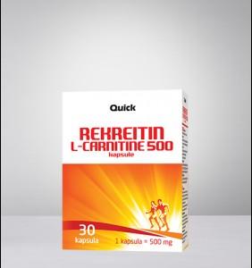 Rekreitin L - Carnitine 500